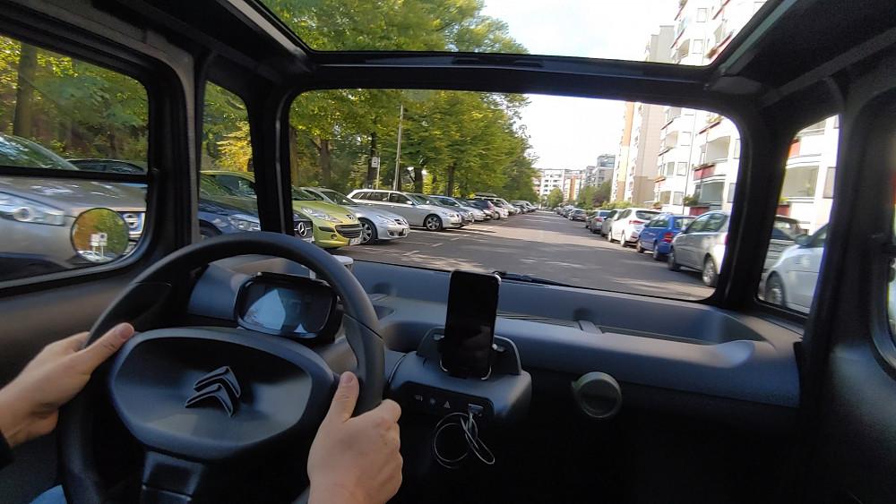 Citroën AMI Probe gefahren