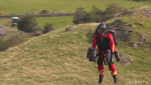 Testflug mit Jetpack - Gravity Industries