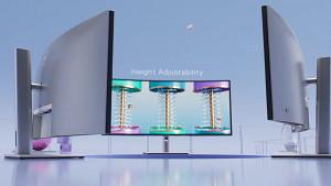Dell zeigt 21-zu-9-Monitor Ultrasharp 34 U3421WE