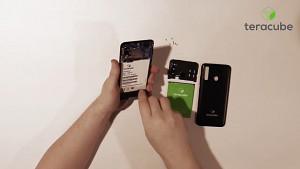 Das Teracube 2e wird auseinandergenommen - Herstellervideo