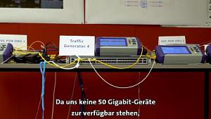 Swisscom erreicht 50 GBits (Herstellervideo)