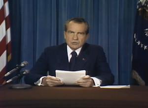 Richard Nixons Rede zur gescheiterten Mondlandung