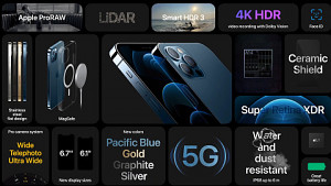 Apple iPhone 12 Pro und 12 Pro Max vorgestellt