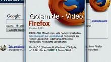 Funktionen von Windows 7 in der Firefox-3.6-Beta