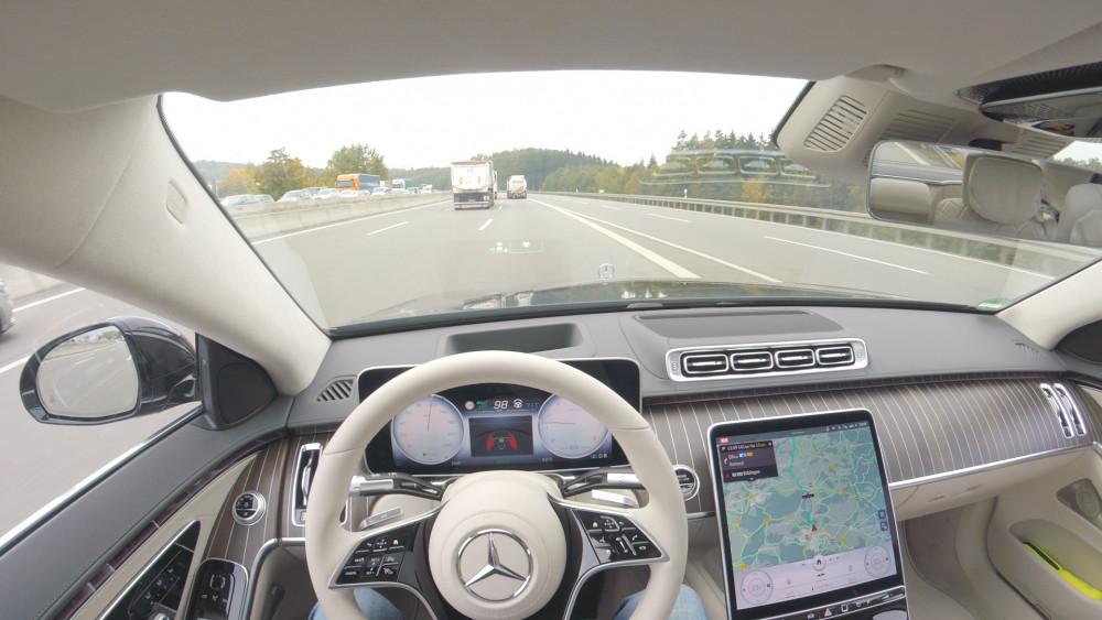 Drive Pilot der S-Klasse ausprobiert
