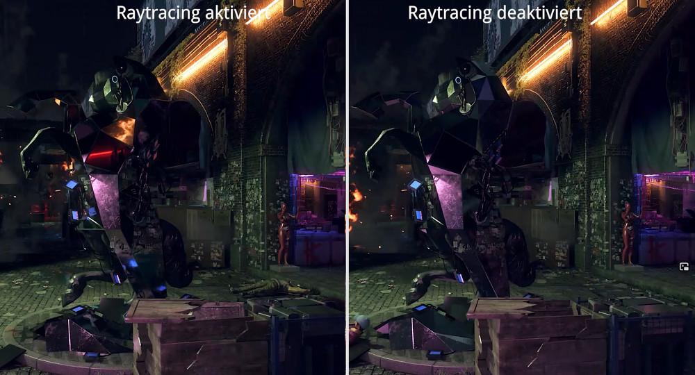 Watch Dogs Legion - Raytracing im Vergleich