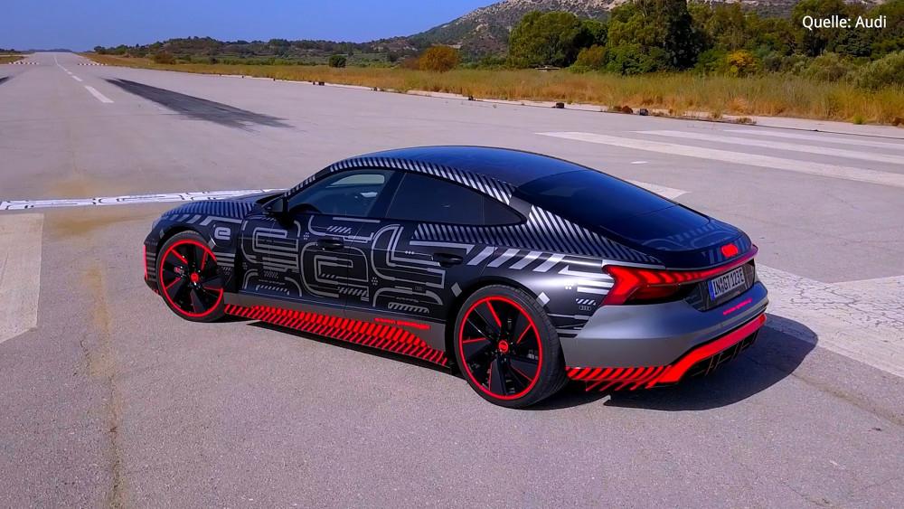 Audi RS E-Tron GT Probe gefahren