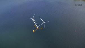 Schwimmende Windkraftanlage Nezzy2