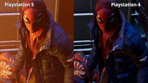 Spiderman - Miles Morales (Vergleich PS5 und PS4)