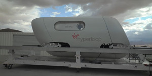 Bemannter Hyperloop-Test - Virgin Hyperloop