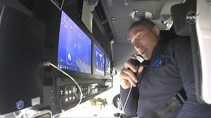 Bilder aus SpaceX's Dragon Resilience Raumschiff (Nasa)