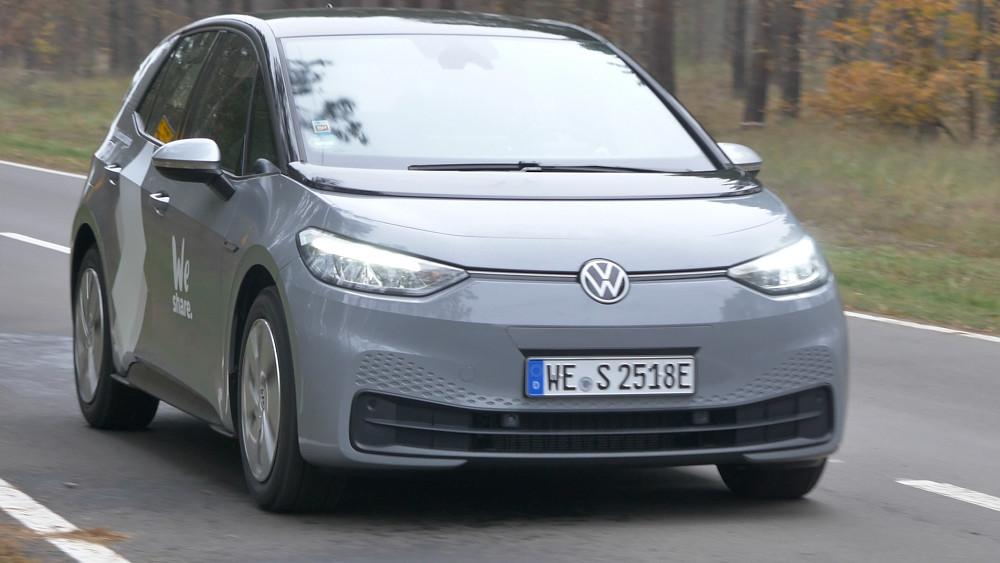 VW ID.3 Probe gefahren