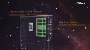 Asrock zeigt Mars 4000U Series