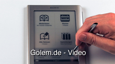 Sony Reader PRS 600 Touch Edition - Test