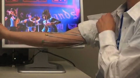 Computersteuerung per Muskelkraft