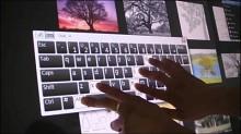 Evoluce One - 47 Zoll großes Multitouch-LCD