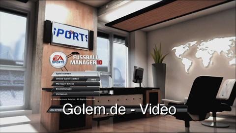 Fußball Manager 10 - Spielszenen