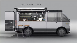 Elektrolieferwagen Canoo MPDV - Herstellervideo