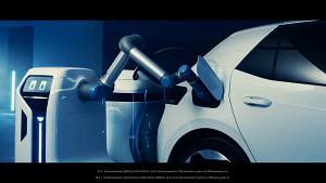 Volkswagen-Laderoboter als Prototyp