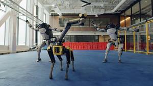 Boston Dynamics Roboter tanzen (Herstellervideo)