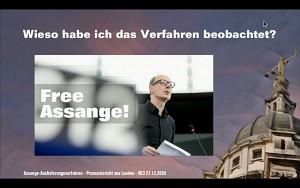 So lief das Auslieferungsverfahren gegen Julian Assange