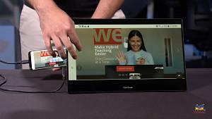 Viewsonic Tragbares Touchdisplay für Smartphone (Herstellervideo)