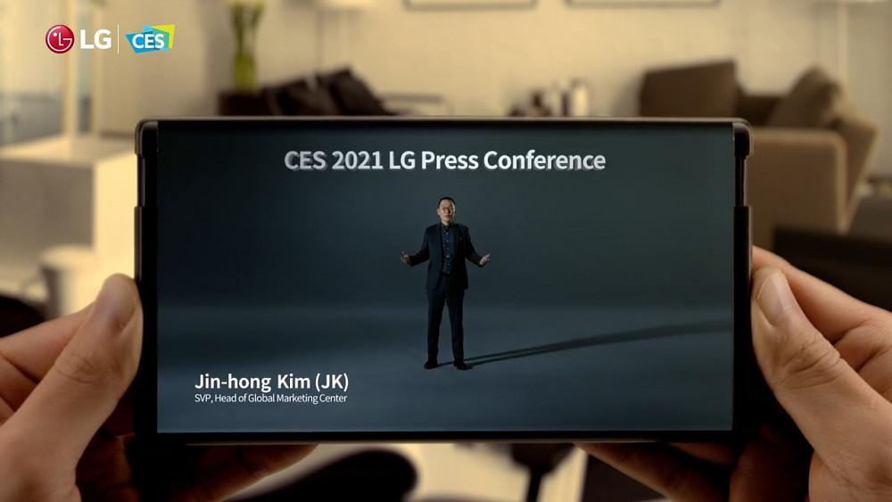 LG Pressekonferenz CES 2021