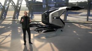 Cadillac zeigt Passagierdrohne (Herstellervideo)