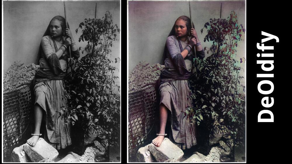 Fotos kolorieren mit einem Klick per KI - Tutorial