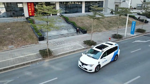 Fahrt mit dem Robotaxi in Shenzhen - AutoX