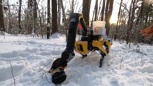 Spot-Roboter mit Arm (Herstellervideo)