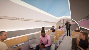 Virgin Hyperloop von innen (Herstellervideo)