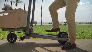 MIMO C1 - E-Scooter als Lastentransporter