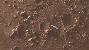 Flug über die Landestelle der Mission Mars 2020 (DLR)