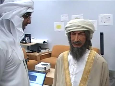 Ibn Sina, der erste arabisch sprechende Roboter