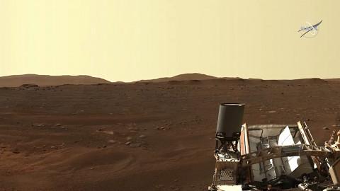Nasa erklärt die Umgebung des Mars Rover