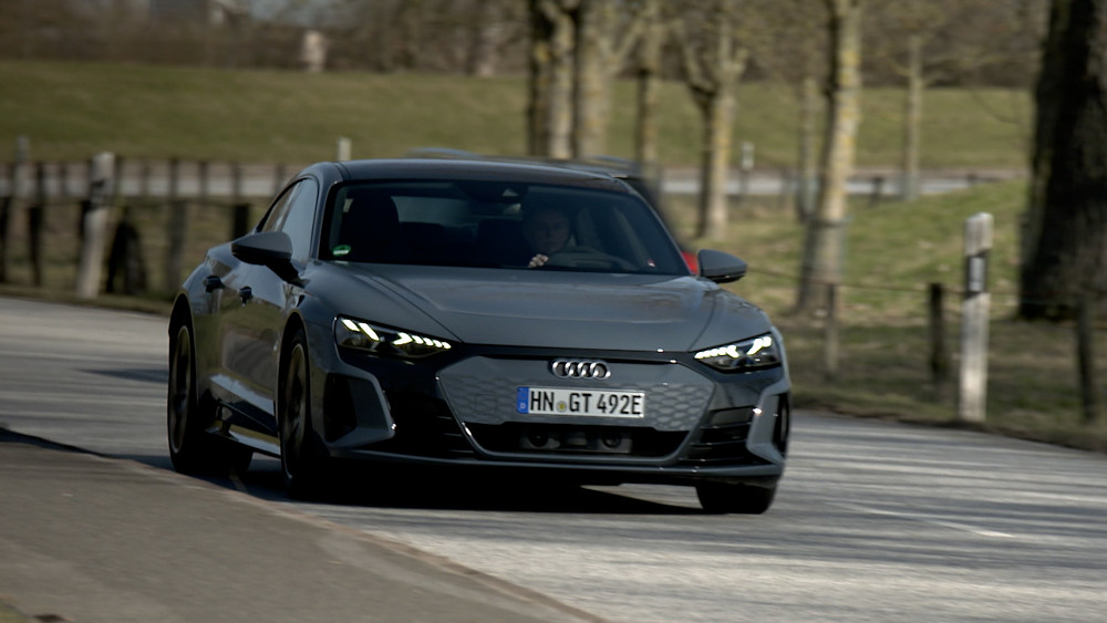 Audi E Tron GT Probe gefahren