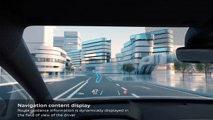 Audi Q4 e-tron AR HUD (Herstellervideo)