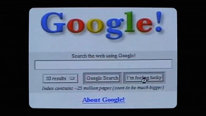 Wie die Google-Suche sich seit 1998 verändert hat (Firmenvideo)