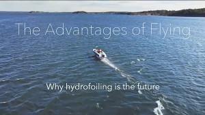 Foilendes Boot im Vergleich zu Konventionellem - Candela