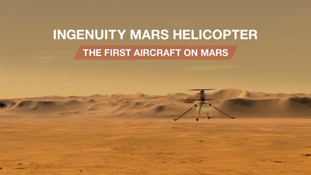 Mars-Hubschrauber Ingenuity - Nasa
