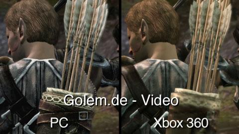 Dragon Age Origins - Vergleich der PC- und Konsolenversion