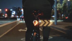 Fahrradblinker mit Schulterblick-Aktivierung