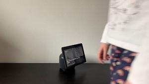 Echo Show 10 folgt Bewegung - ausprobiert