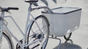 Biomega Ein - elektrischer Fahrradanhänger nach dem Pedelec-Prinzip