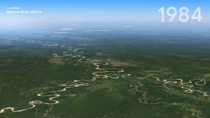 Timelapse in Google Earth vorgestellt (Firmenvideo)