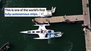 Voll autonomes Schiff MAS - Promare und IBM