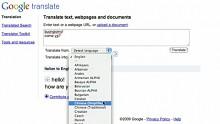 Neue Funktionen bei Google Translate