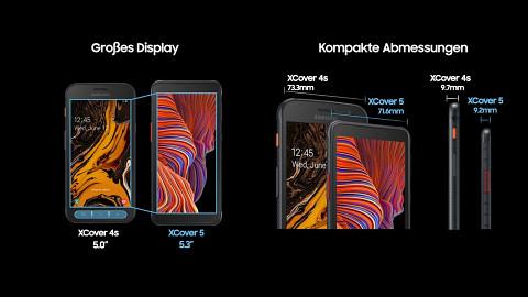 Smartphone mit Wechselakku Galaxy XCover 5 (Herstellervideo)