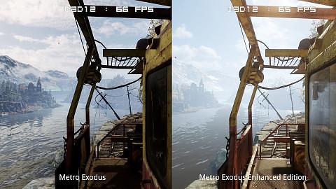 Metro Exodus Raytracing - Original vs Enhanced Edition